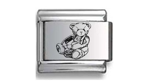 Teddy Bear Chair Laser Italian Charm