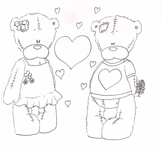 Teddy Bears Valentine Day
