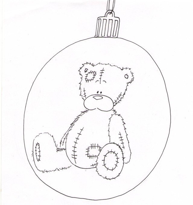 Teddy Bear XMAS Ball